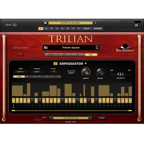 Spectrasonics Trillian Bass trilian total bass module free