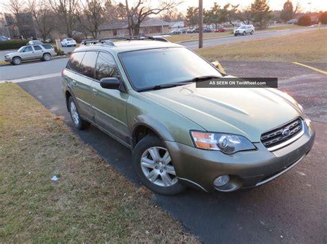2005 subaru outback light 2005 subaru outback limited wagon 4 door 2 5l tinted