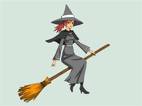 a witch how to draw a witch with pictures wikihow