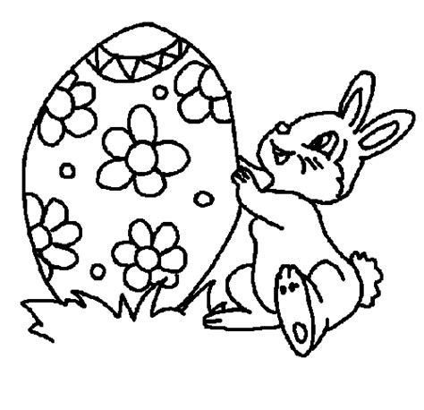 bunny coloring pages easy easter bunny colouring template coloring part 3