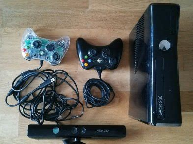 Sale Xbox 360 Slim Hdd 250gb 2 Stik Wireless Original Kinect xbox 360 slim 250gb 2 controllers kinetic fifa16 8 other for sale in malahide dublin from