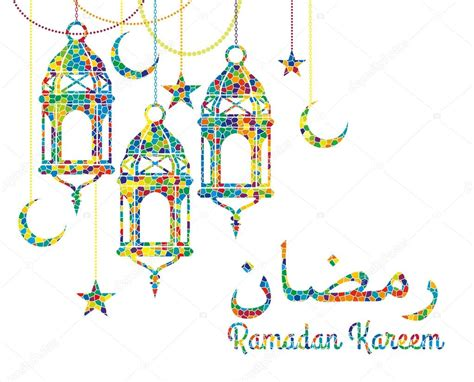 ramadan pattern vector free ramadan background with ramadan kareem stock vector