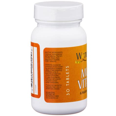 6 supplements to avoid taking weight loss multivitamin for weight loss wonderslim