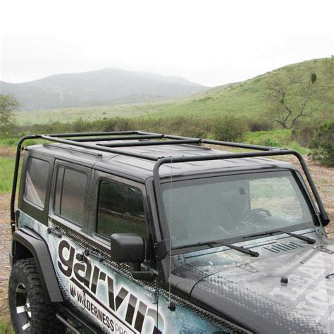 Garvin Jeep Roof Rack by Garvin Roof Rack For Jeep Jk Auto Design Tech
