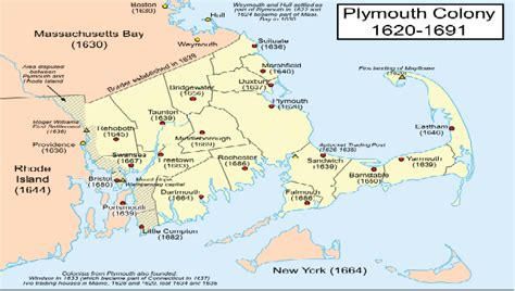 where is the plymouth colony governor william bradford writings in the