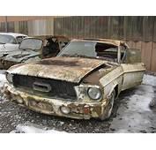 Ford Mustang 1967  Kaufdorf Graveyard Switzerland Luft