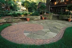 captivating brick patio design patterns on rustic