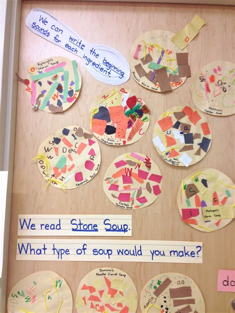 What Kind Of Stone Soup Would You Make School Stone