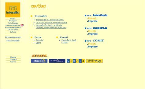 banca commerciale italiana spa vav web site