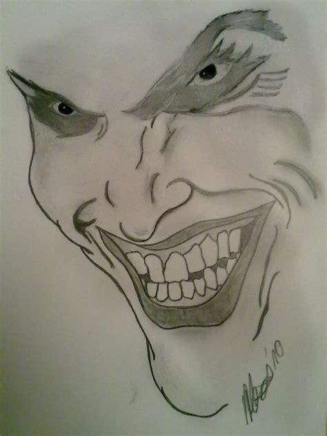 bild zeichnungen portrait joker von batman bei kunstnet