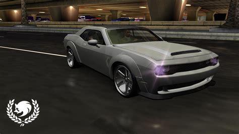 speed underground  dodge demon  custom nfscars