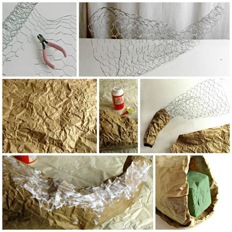 How To Make A Cornucopia Out Of Paper - fall cornucopia with silk flowers frugal upstate