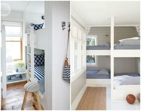 Diy Built In Bunk Beds Built In Bunk Beds Diy Decorator