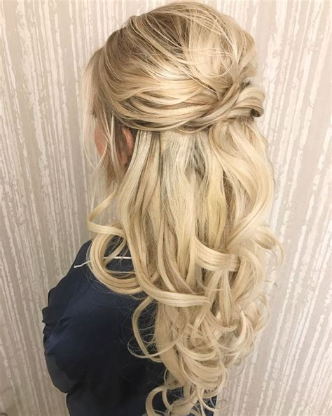 Wedding Hair Half Up Half Curls by Best 25 Half Up Wedding Ideas On Wedding