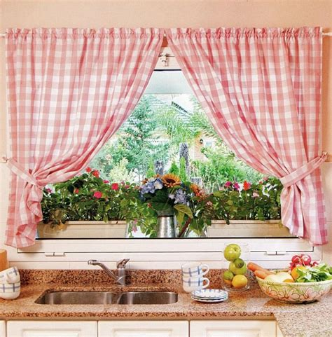 kitchen curtains design  types  diy advice