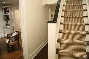Brown Stair Carpet by Tailored Stripe Stair Runner Hemphill S Rugs Amp Carpets