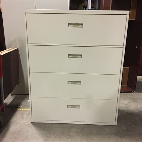 lateral file cabinet 4 drawer used 4 drawer lateral file cabinet 092017b thrifty