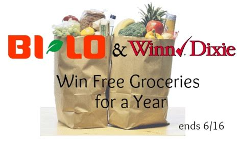 Grocery Sweepstakes - bi lo winn dixie great grocery giveaway reminder southern savers