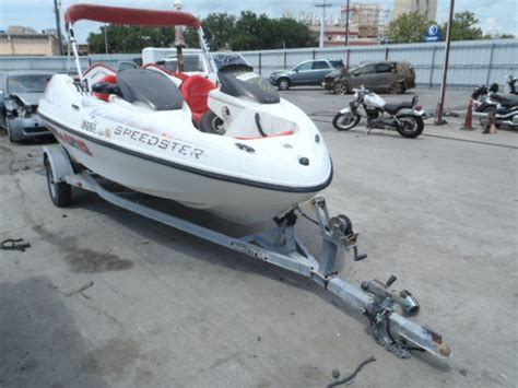 seadoo and boat trailer 98 sea doo speedster jet boat with trailer bimini top