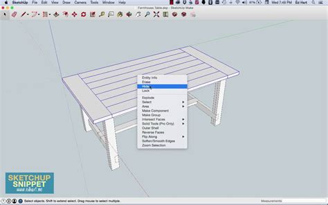 sketchup layout hidden lines sketchup snippet hiding and showing objects youtube