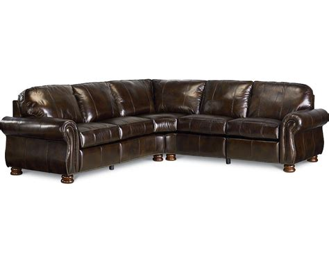 thomasville leather sectionals thomasville reclining sofa benjamin sectional leather