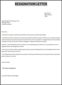 I Want Resignation Letter Format by Professional Resignation Letter Format 11554 Yourmomhatesthis