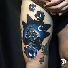 jason pikachu vs zombie pikachu tattoo done by brandoom jason pikachu vs zombie pikachu tattoo done by brandoom