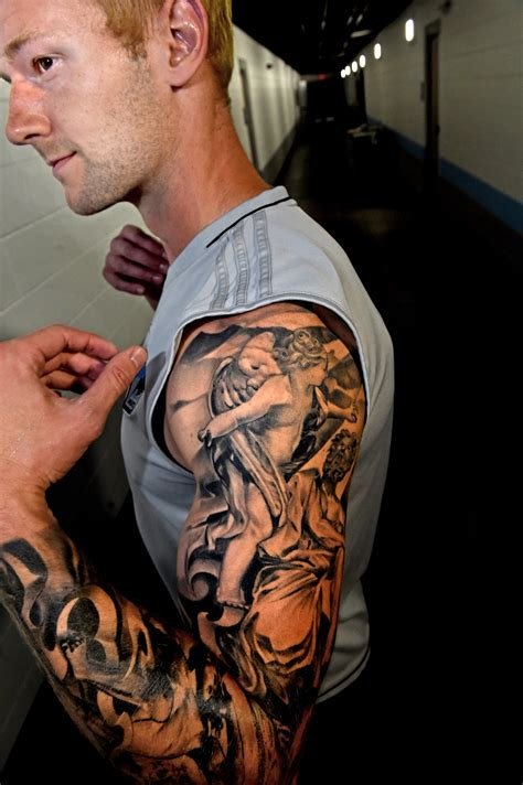 left arm tattoos united players meaning and some regret on