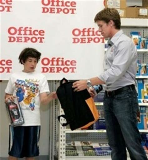 Office Depot Foundation by Office Depot Foundation Donates 300 000 Backpacks To