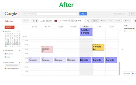 Calendar Print Extension Chrome Calendar Extension Calendar Template 2016