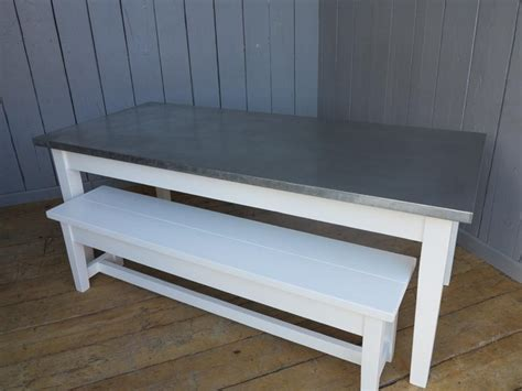 made to measure bench seating made to measure matt zinc table painted bench chairs