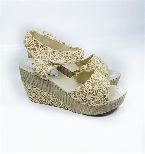 bukalapak wedges sepatu wedges rinshop where style and passion are born