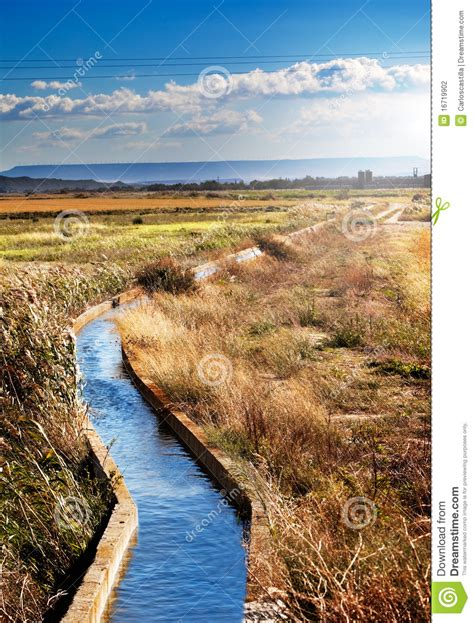 Landscape Photography Channels Water Channel Stock Photography Image 16719902