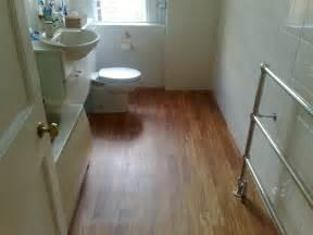 Wood flooring gallery bathroom