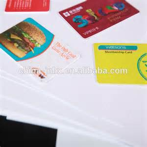 color business card printing wholesale business card with all color printing plastic