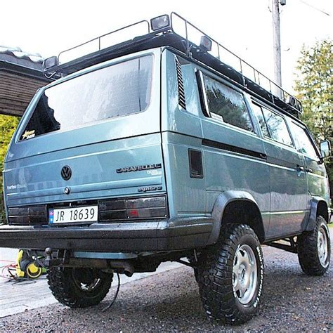 volkswagen vanagon lifted 448 best images about vw t3 t25 syncro on pinterest