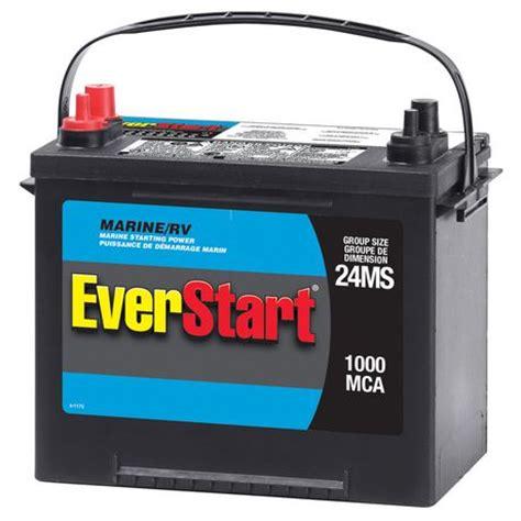 boat battery mca everstart marine battery starting power walmart ca
