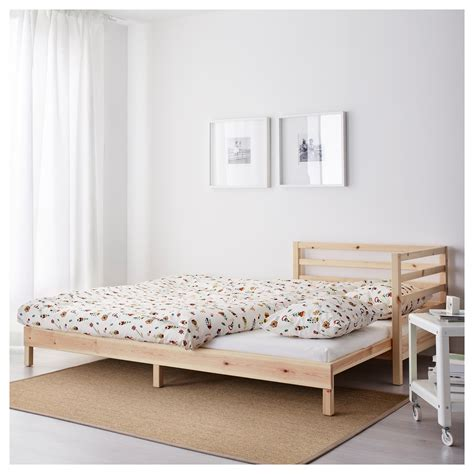 ikea bed mattress tarva day bed with 2 mattresses pine moshult firm 80x200