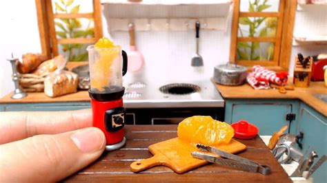 Real Working Miniature Kitchen by Mimine Mini Is A Korean Channel That Cooks