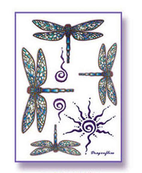 tattoo mandala fuß amazon com tattify dragonfly temporary tattoo keep
