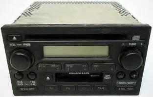 2002 Honda Accord Radio 2002 Honda Accord Factory Oem Stereo Cd Player Radio