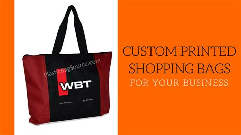 Customized Bags choosing customized shopping bags for business plastic
