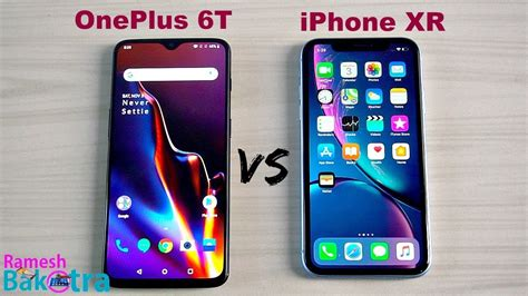 oneplus   apple iphone xr speedtest  camera comparsion youtube