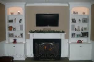 Fireplace With Bookshelves Gas Fireplace Book Fireplaces