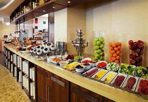 the bistro breakfast buffet picture of courtyard moscow
