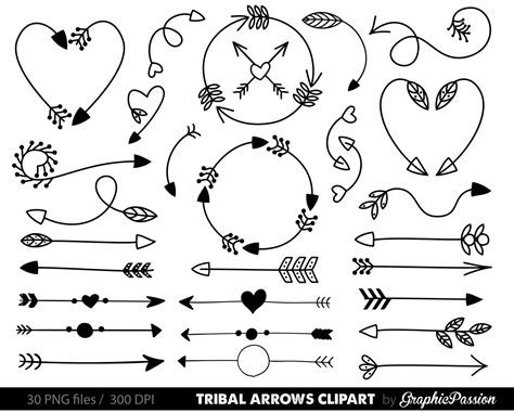 arrow doodle free vector arrows clip tribal arrow clip archery