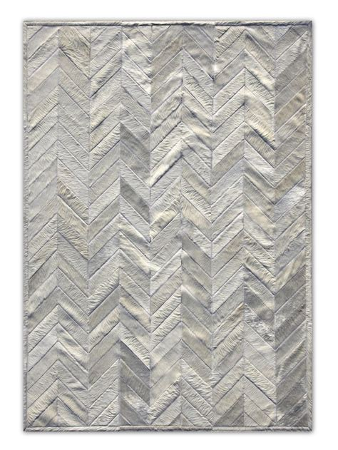 Cowhide Patchwork Rugs Sale - gray cowhide chevron rug i will take one of those