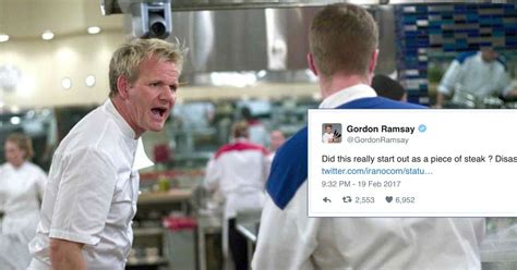 2007s Favorite Chef Is by Gordon Ramsay S Reviewing S Cooking On