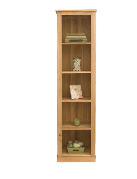 Narrow Oak Bookcase Mobel Oak Narrow Bookcase
