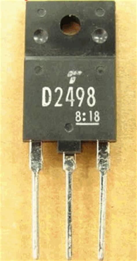 horizontal output driver transistor d2498 datasheet d2498 pdf pinouts circuit toshiba